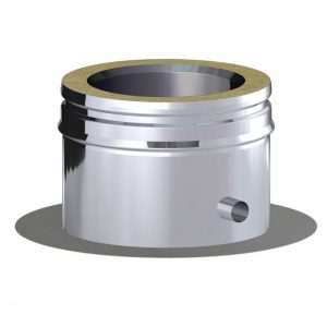Dinak DW Twin Wall Stainless Steel Base Plate with Drain
