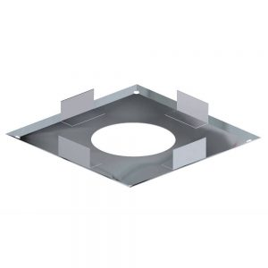 Dinak DW Twin Wall Stainless Steel Firestop Plate