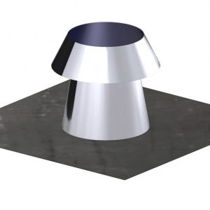 Dinak DW Twin Wall Stainless Steel Flat Roof Flashing