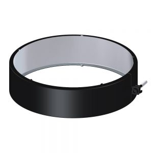 Dinak DWN Twin Wall Stainless Steel Black Locking Band