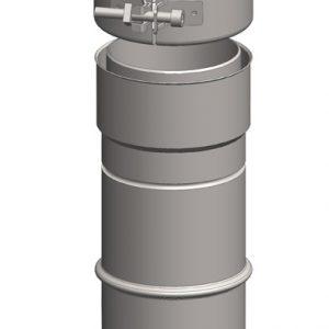 SW - FLEX ADAPTOR FOR CONDENSING DINAFLEX 316L Ø125